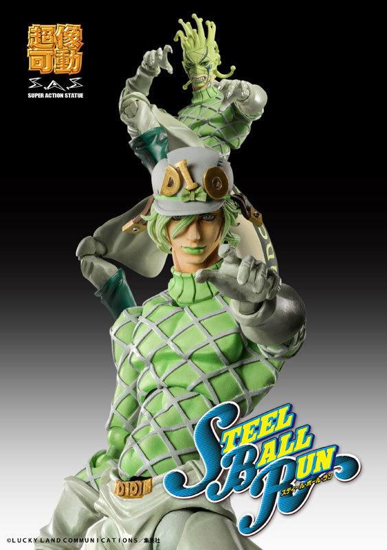 超像可動 ジョジョの奇妙な冒険 第7部 スティール・ボール・ラン ディエゴ・ブランドーFIGURE-060622_05