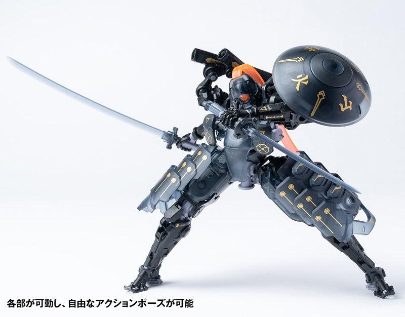 "ROBOT BUILD RB-09D SILA ""侍羅"" アクションフィギュアFIGURE-118010_05"