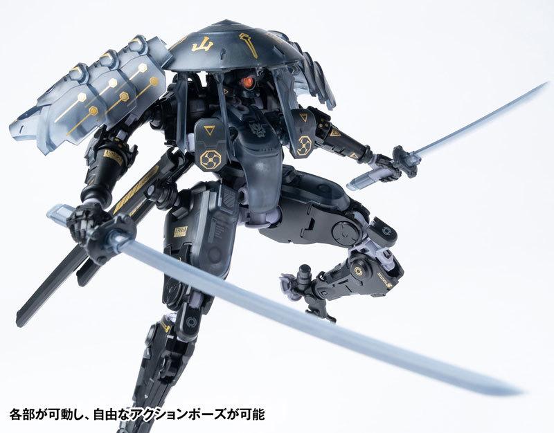 "ROBOT BUILD RB-09D SILA ""侍羅"" アクションフィギュアFIGURE-118010_07"
