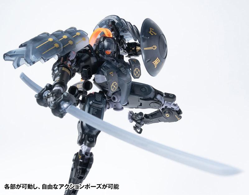 "ROBOT BUILD RB-09D SILA ""侍羅"" アクションフィギュアFIGURE-118010_08"