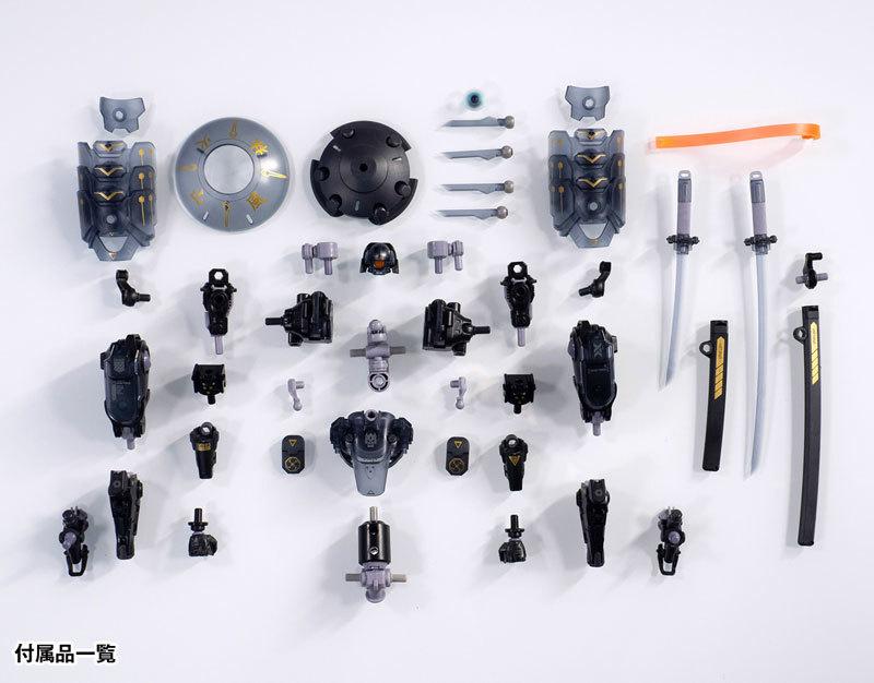 "ROBOT BUILD RB-09D SILA ""侍羅"" アクションフィギュアFIGURE-118010_09"