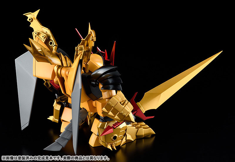 PLAMAX MS-08 真魔神英雄伝ワタル 鋼衣邪虎丸 プラモデルTOY-RBT-5569_02