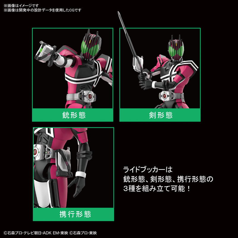 Figure-rise Standard 仮面ライダーディケイド プラモデルFIGURE-118442_05