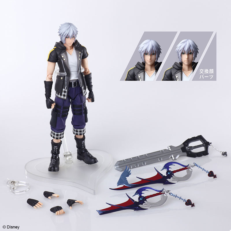 KINGDOM HEARTS III BRING ARTS リク Version 2 アクションフィギュアFIGURE-118499_07