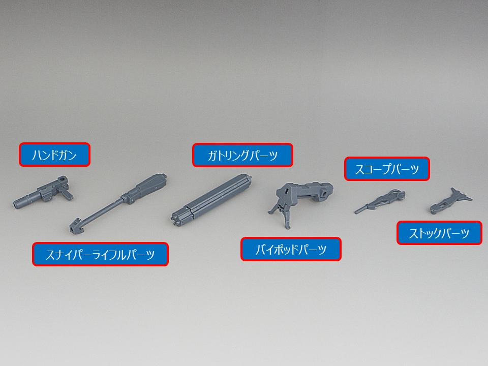 30MM シエルノヴァ用オプションウェポン1-2