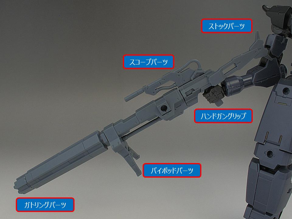 30MM シエルノヴァ用オプションウェポン1-11