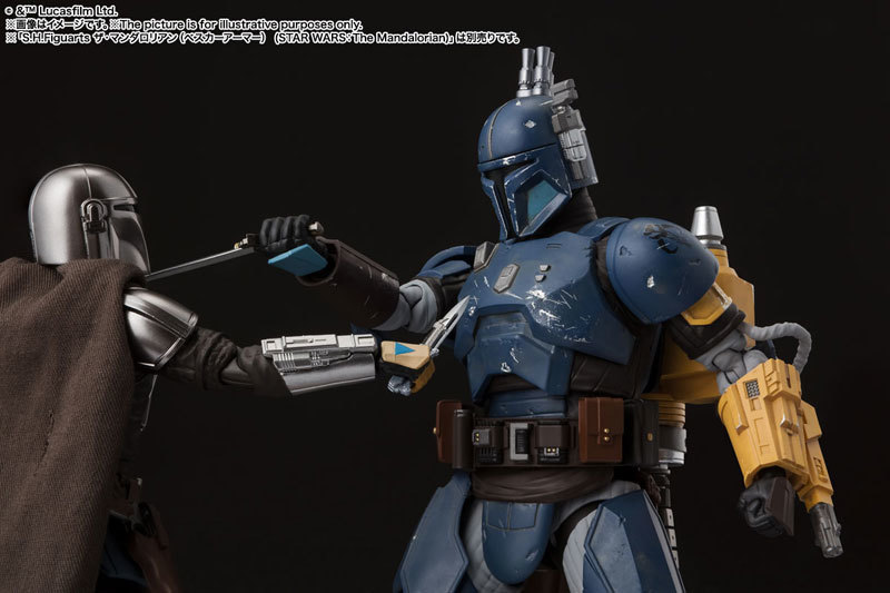 重歩兵マンダロリアン(STAR WARS: The Mandalorian) FIGURE-119099_06