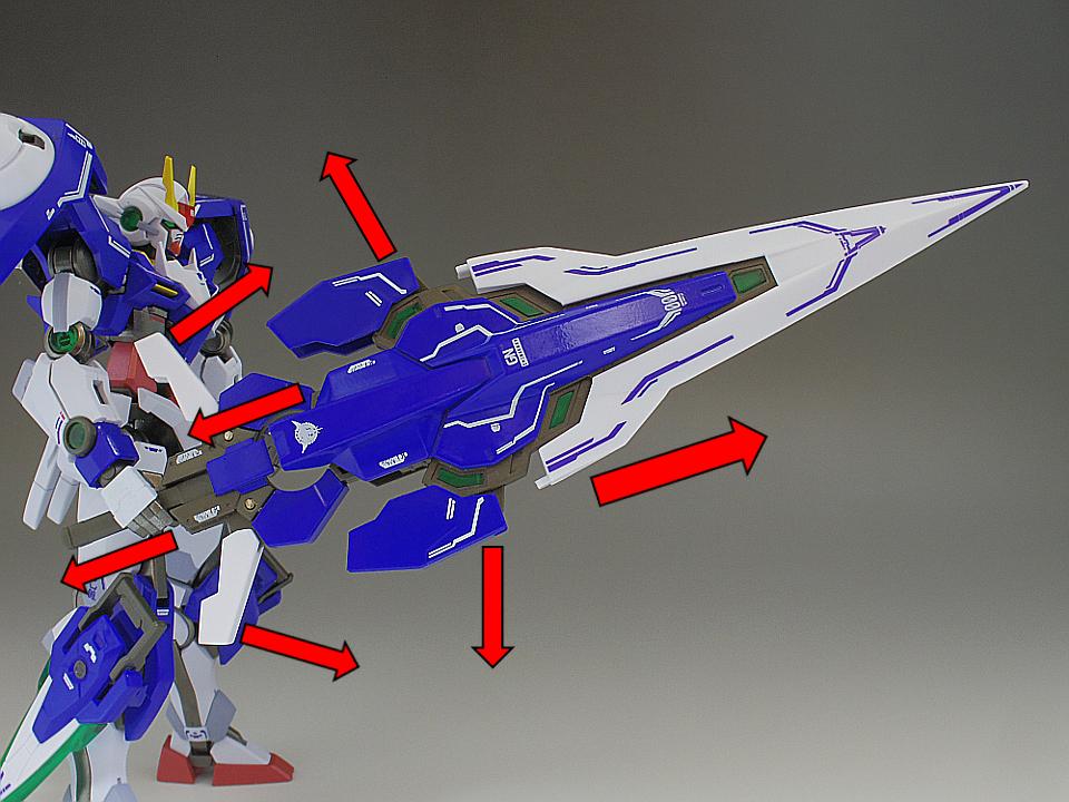 METAL ROBOT魂 ダブルオー ザンライザーa1