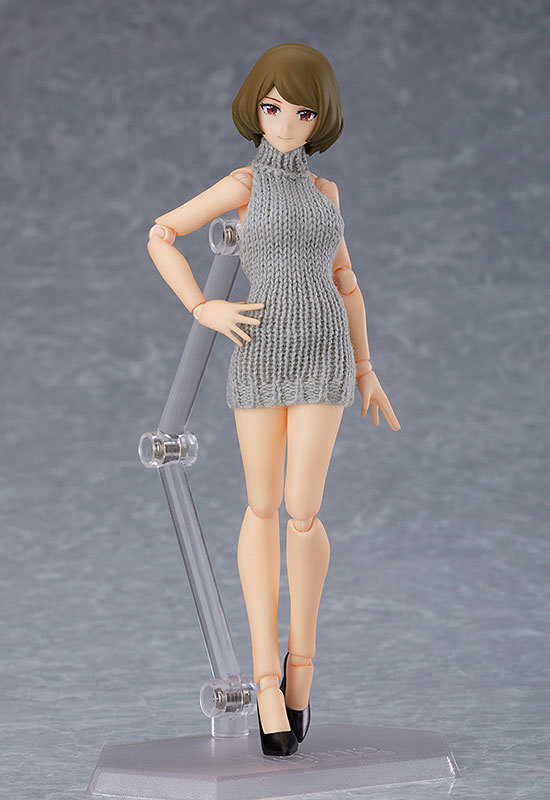 figma Styles 女性body(チアキ) with バックレスセーターコーデFIGURE-120706_02