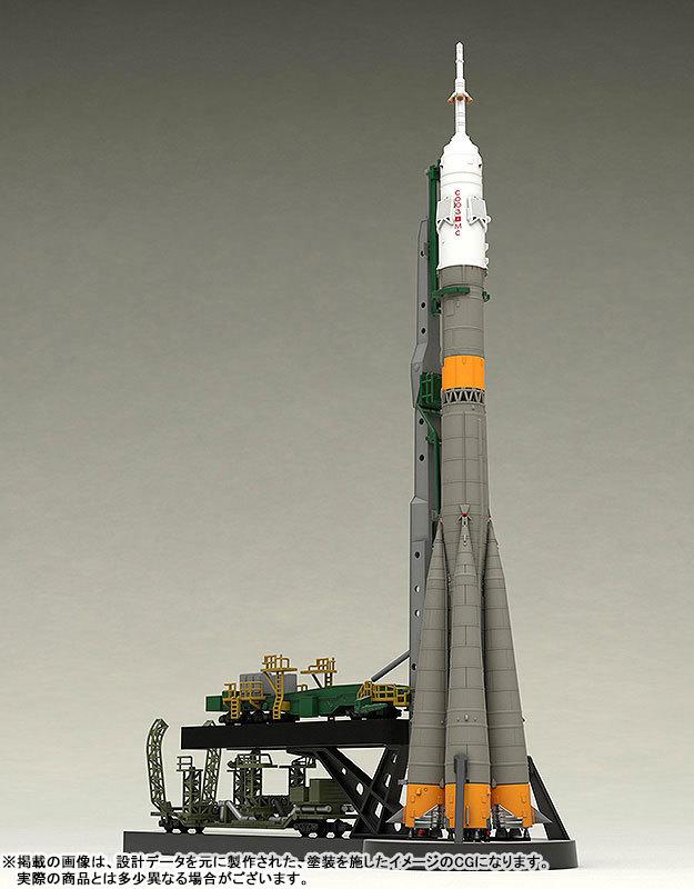 1150 ソユーズロケット_搬送列車 プラモデルTOY-SCL2-80346_03
