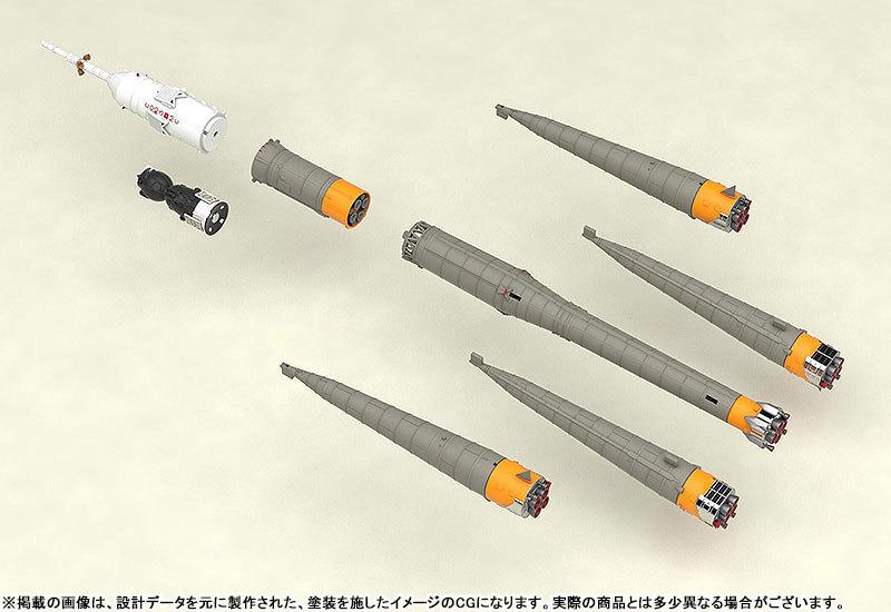 1150 ソユーズロケット_搬送列車 プラモデルTOY-SCL2-80346_06