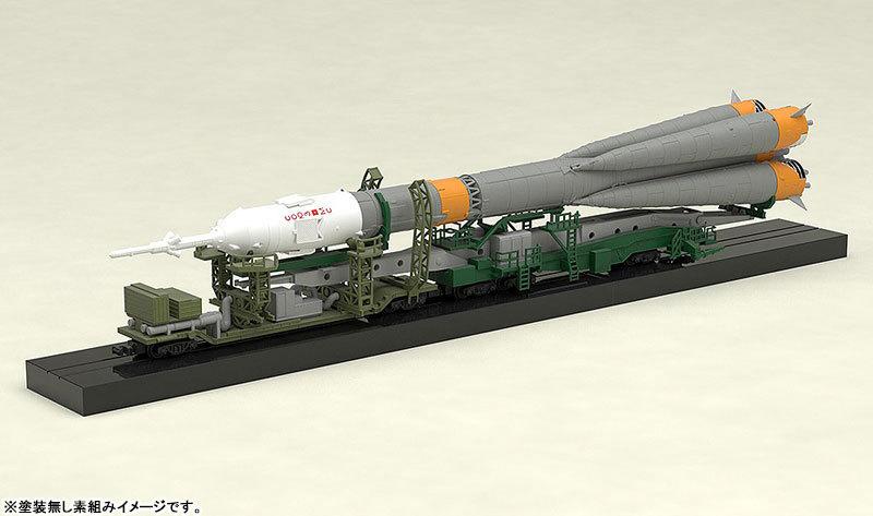1150 ソユーズロケット_搬送列車 プラモデルTOY-SCL2-80346_09