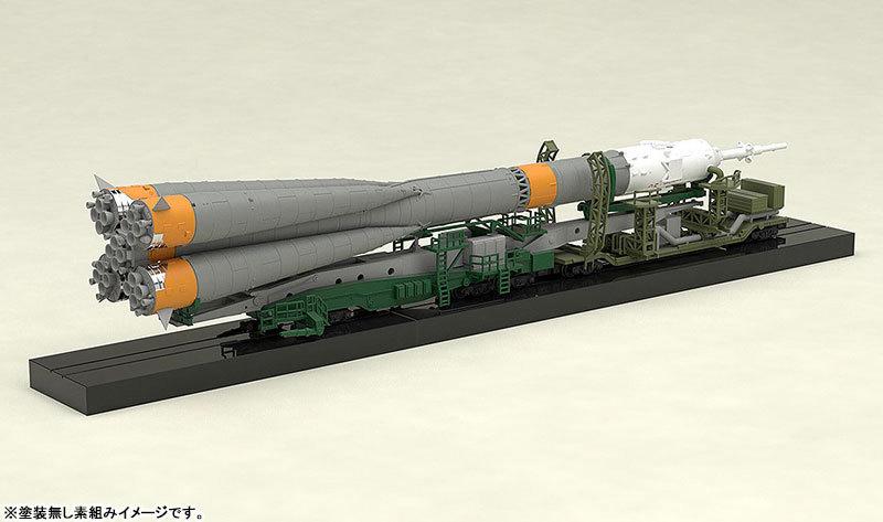 1150 ソユーズロケット_搬送列車 プラモデルTOY-SCL2-80346_10