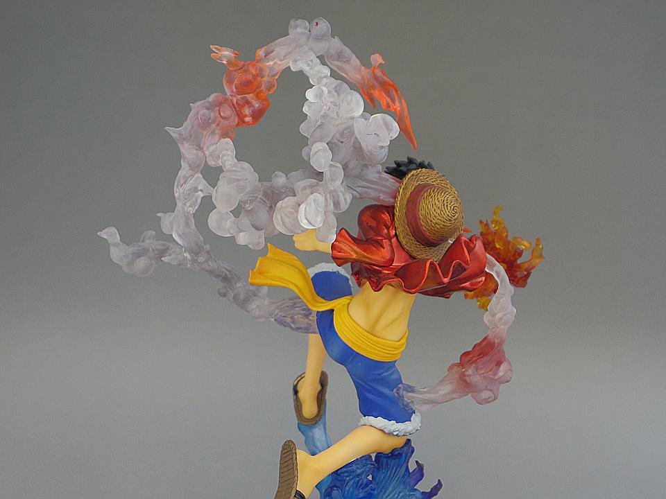 フィギュアーツZERO ルフィ ゴムゴムの火拳銃50