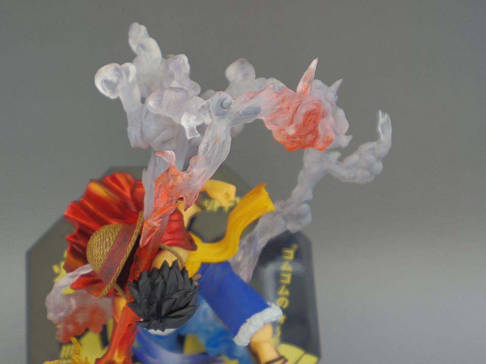 フィギュアーツZERO ルフィ ゴムゴムの火拳銃41