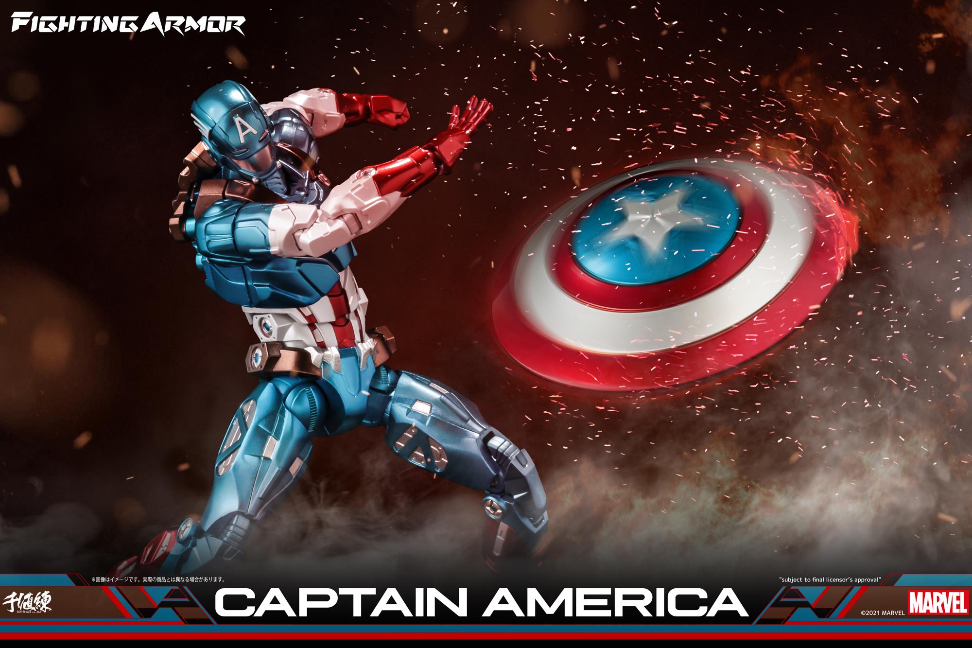 ファイティングアーマー キャプテン・アメリカ アクションフィギュアFIGURE-121834_16