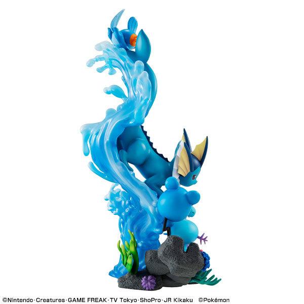 ポケットモンスター みずタイプ DIVE TO BLUE 完成品フィギュアFIGURE-122568_03