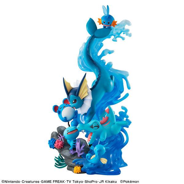 ポケットモンスター みずタイプ DIVE TO BLUE 完成品フィギュアFIGURE-122568_06