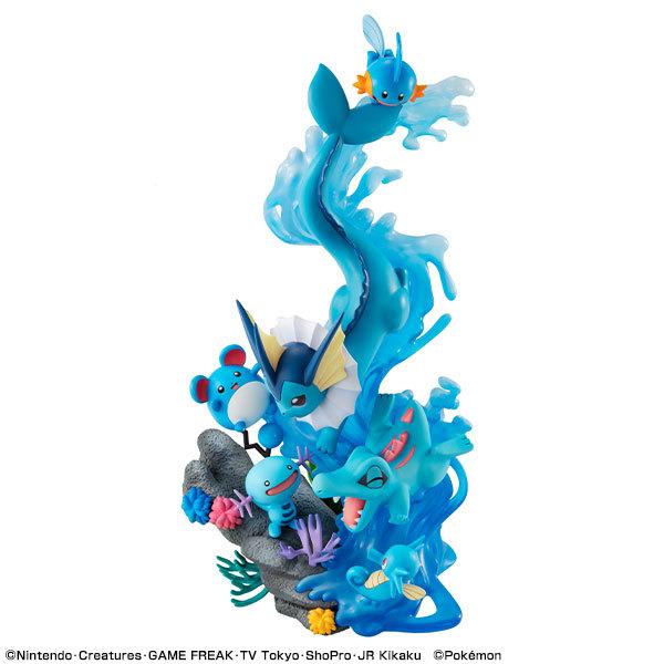ポケットモンスター みずタイプ DIVE TO BLUE 完成品フィギュアFIGURE-122568_07