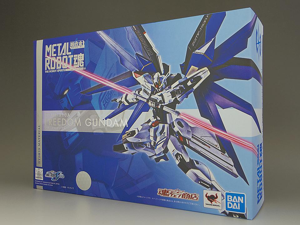 METAL ROBOT魂 フリーダムガンダム1