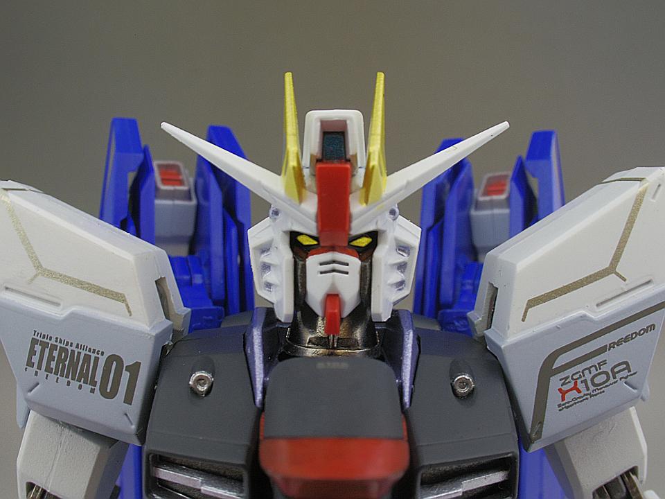 METAL ROBOT魂 フリーダムガンダム9