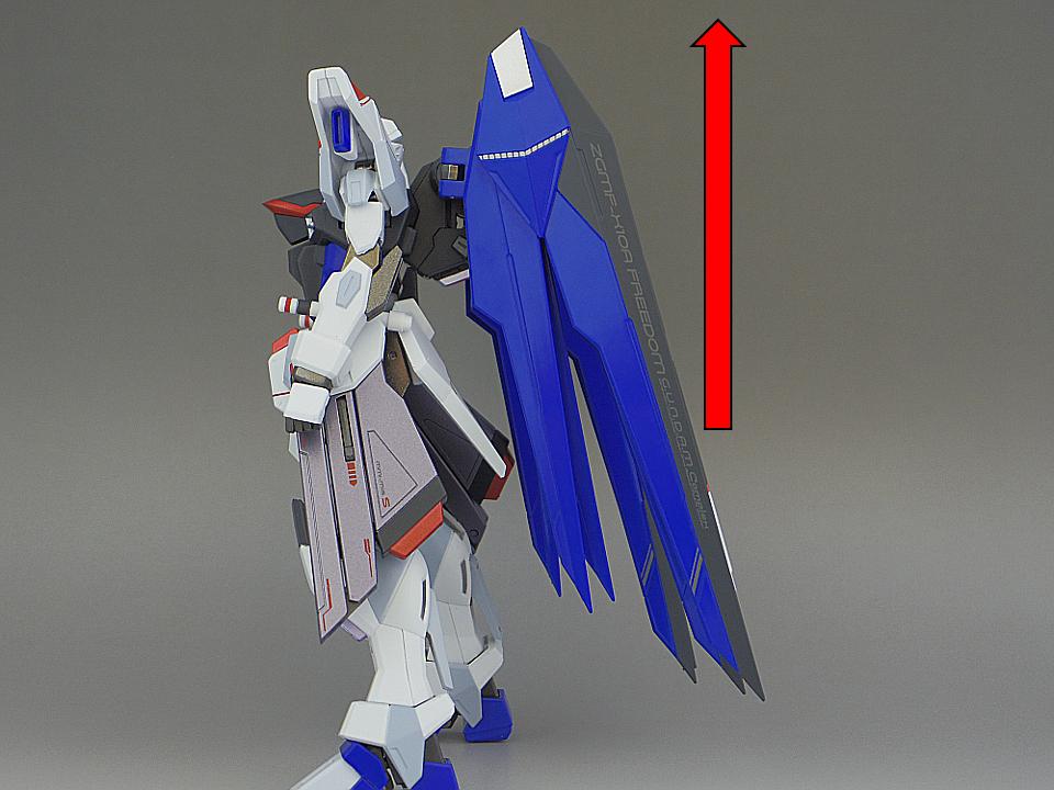 METAL ROBOT魂 フリーダムガンダム25