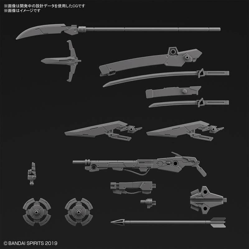 30MM カスタマイズウェポンズ (戦国兵装) プラモデルTOY-RBT-5780_01
