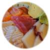 韓国,魚飯齋,刺身丼