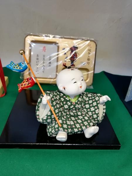 木目込み人形 えんちゃⅯ 間口14㎝×高さ14㎝×奥行13㎝ ¥14700