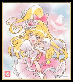 プリキュア 色紙ART 7.キュアミラクル