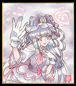 プリキュア 色紙ART 10.キュアアムール