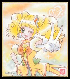 プリキュア 色紙ART 14.キュアスパークル