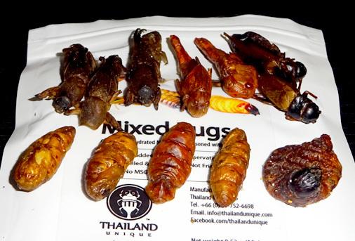 昆虫食自販機 TOKYO昆虫 Fromアメ横 昆虫ミックス5種