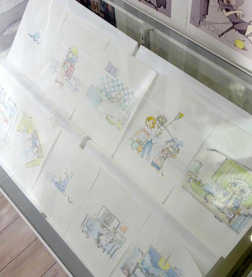 漫画家つくみず展&ポップアップストア in 渋谷マルイ