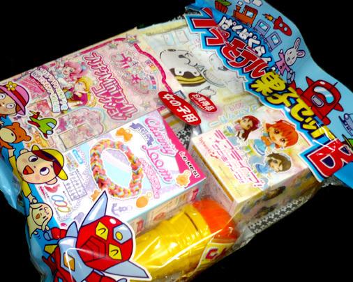 北関百瀬 ぱくぱくらんど プラモデル菓子セット
