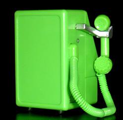NTT東日本 公衆電話 ガチャコレクション MC-3P(アナログ公衆電話機)