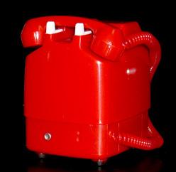 NTT東日本 公衆電話 ガチャコレクション 新形赤電話機