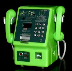 NTT東日本 公衆電話 ガチャコレクション デュエットホン