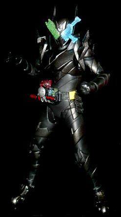仮面ライダービルド 海賊レッシャーハザードフォーム