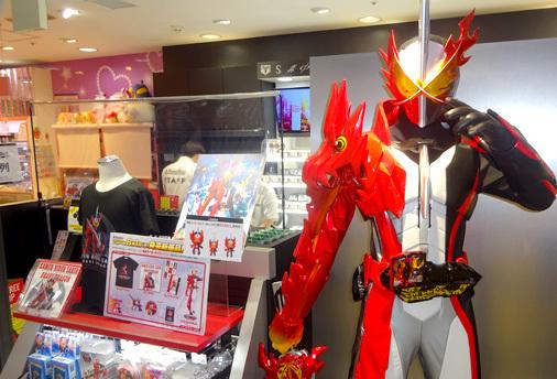 東京駅一番街 キャラクターストリート 仮面ライダーストア