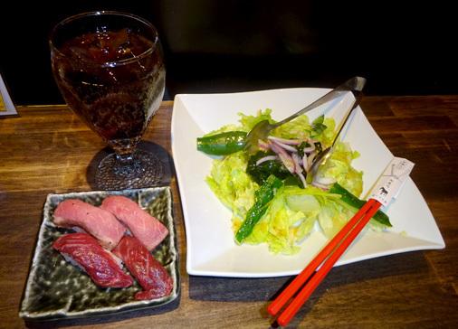 上野肉寿司の肉の日限定 食べ放題コース