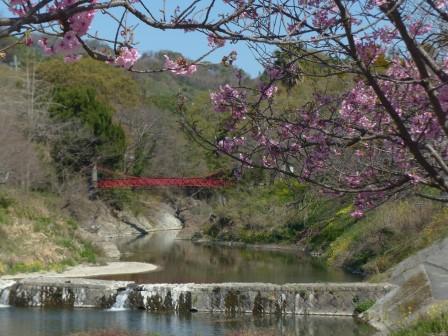 岩堰橋と陽光 2
