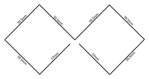 Biquadエレメント/サイズ