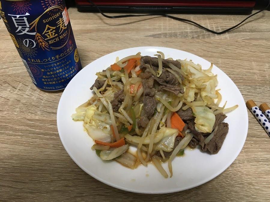 20200613/野菜炒め
