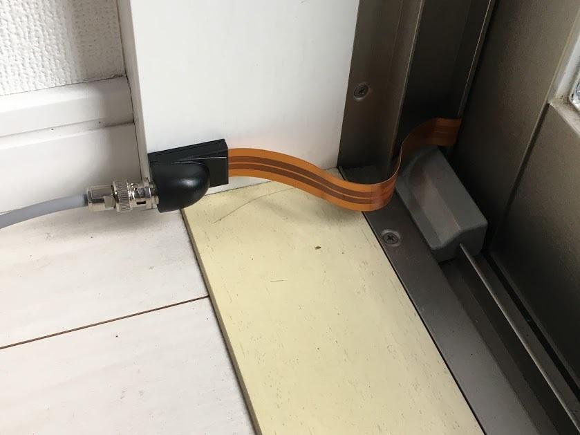 マグネチックループ/隙間ケーブル設置