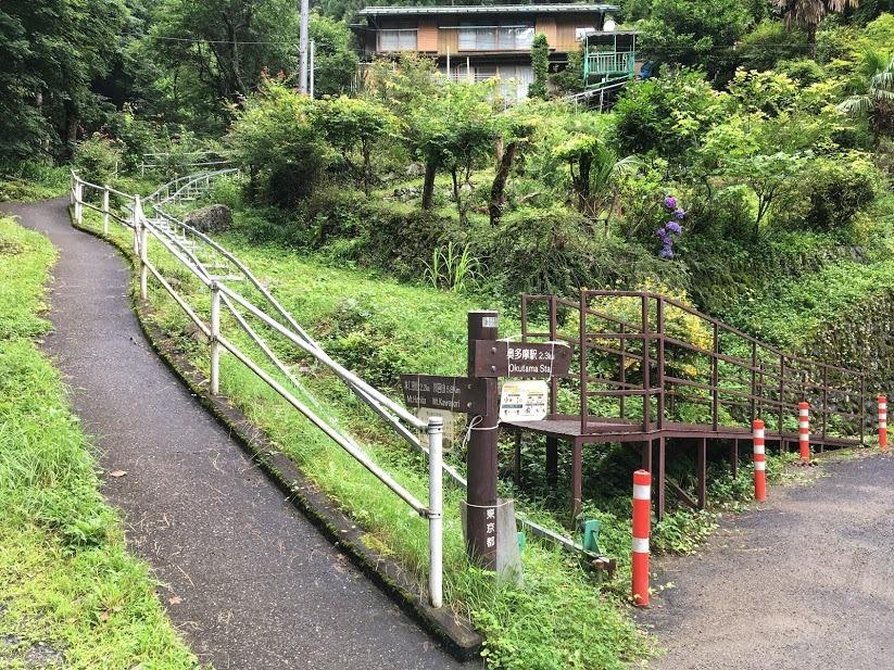 本仁田山/登山口