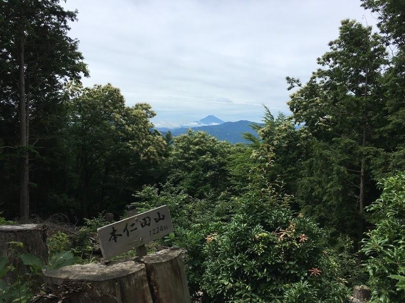 本仁田山/富士