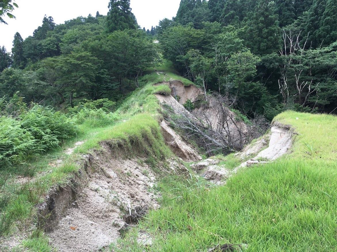2020武奈ヶ岳/崩壊