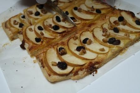 リンゴの折りパイ