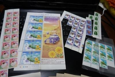 ちょっぴり古い切手